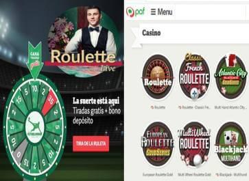 Bono apuesta segura Casino Paf hasta por 20 euros